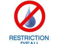 Sécheresse : des restrictions d'eau mises en place