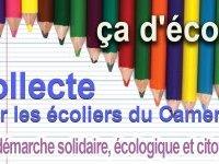 Du matériel scolaire pour les enfants du Cameroun
