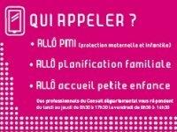 Allô PMI et Allô planification familiale